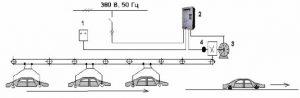 Управление скоростью движения автомобильного конвейера